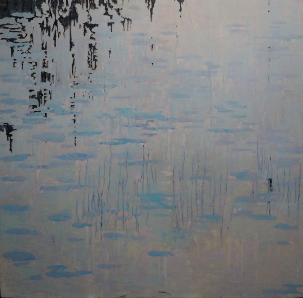 Herman Lohe, Dawn by the lake, 2019