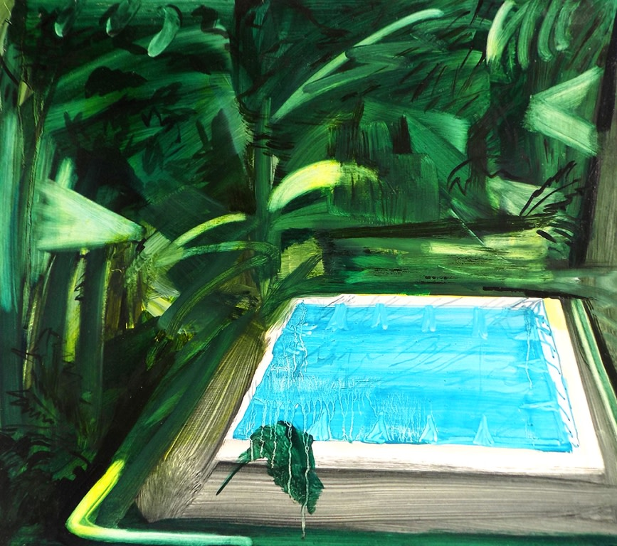 Lucy Smallbone, Swimming in Jungle, 2016