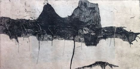 Ritsuko Ozeki, Natural Scenery- Mountain, 2011