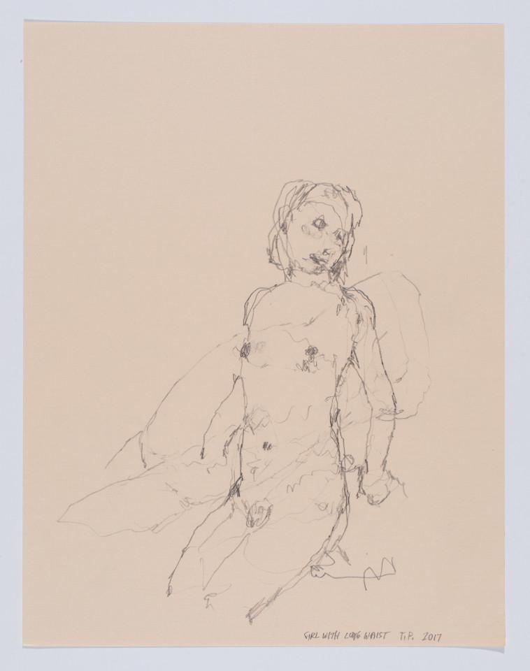 Tom Prochaska, Girl with Long Waist, 2016
