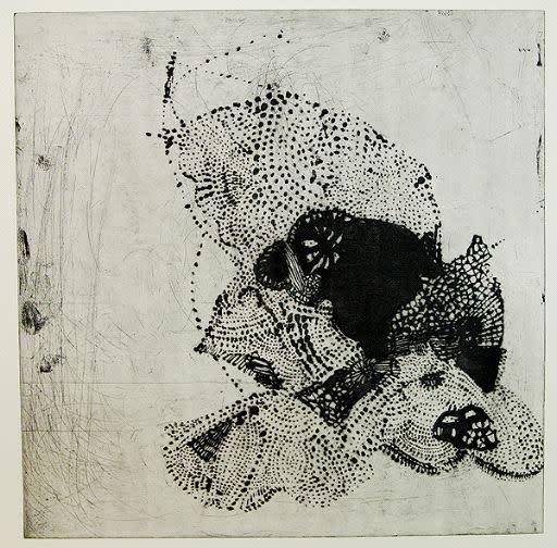 Ritsuko Ozeki, Piece D (Black), 2008