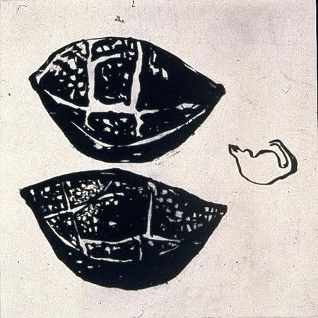 Ritsuko Ozeki, Two Pomegranates, 1999