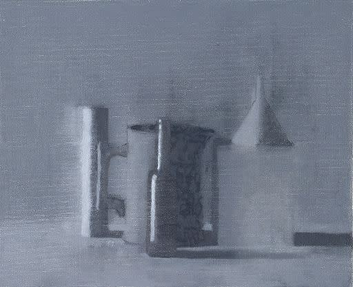 Benny Fountain, Black and White Still Life Composition #3, 2014