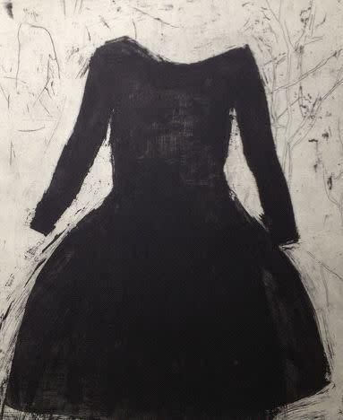 Ritsuko Ozeki, Black Dress, 2013