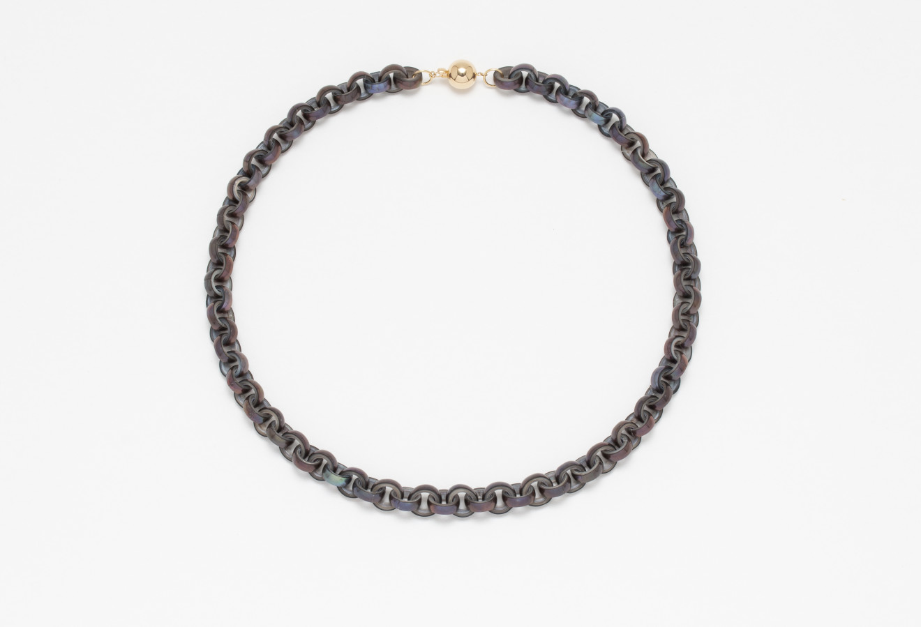 Lin Cheung, Peacock Pearl Chain Necklace, 2019