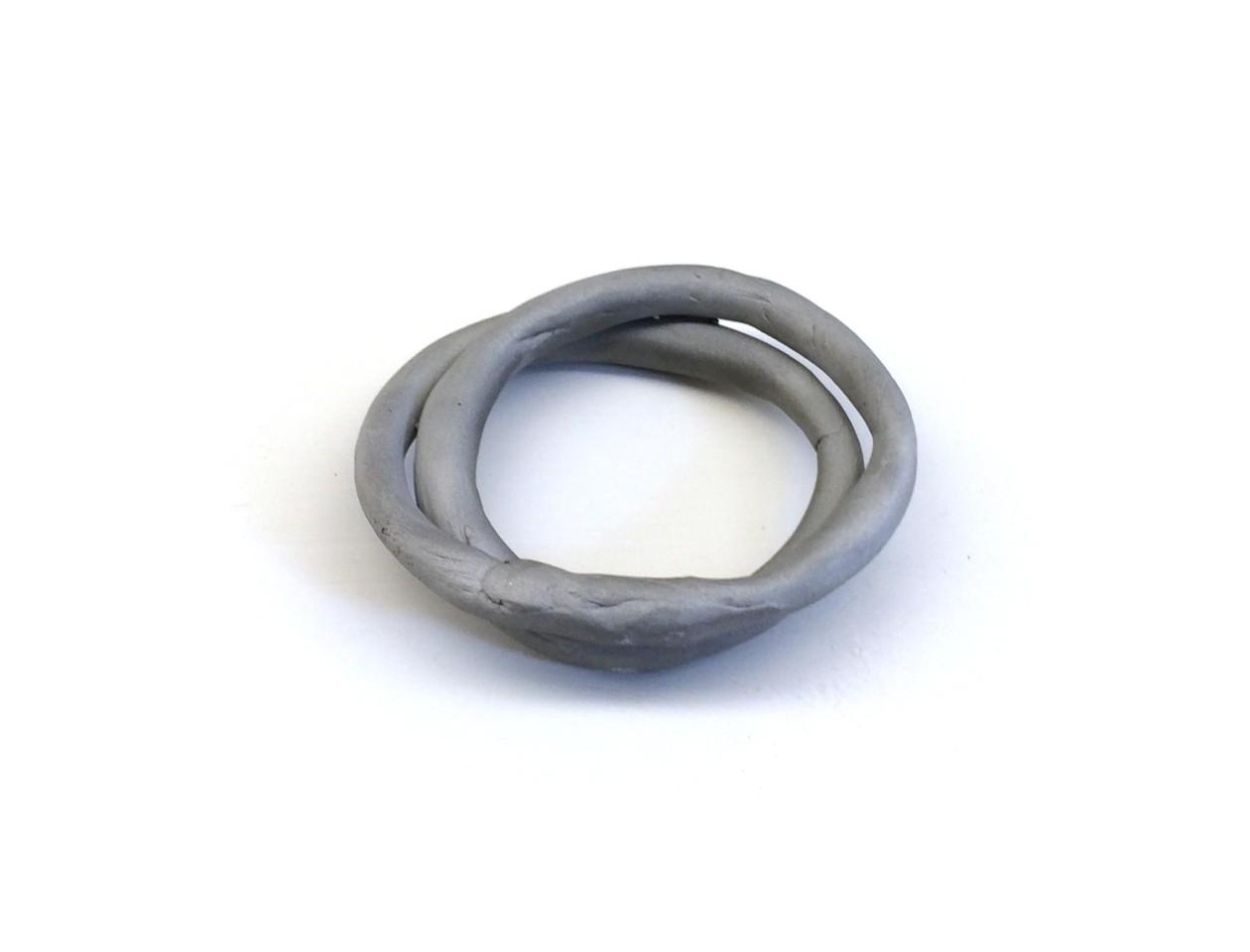 Marc Monzo, Infinite Grey Bracelets, 2014