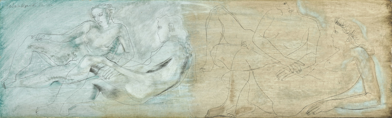 Barbara Hepworth, 1903-75, Reclining Figures, 1952