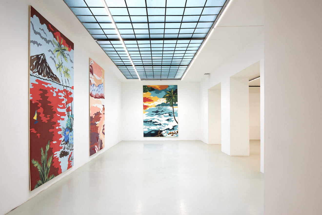 Grear Patterson, Installation View II, Planes & Mountains, 2019