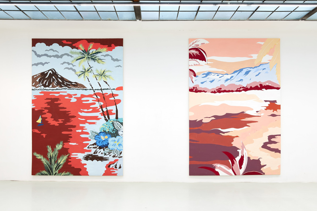 Grear Patterson, Installation View III, Planes & Mountains, 2019
