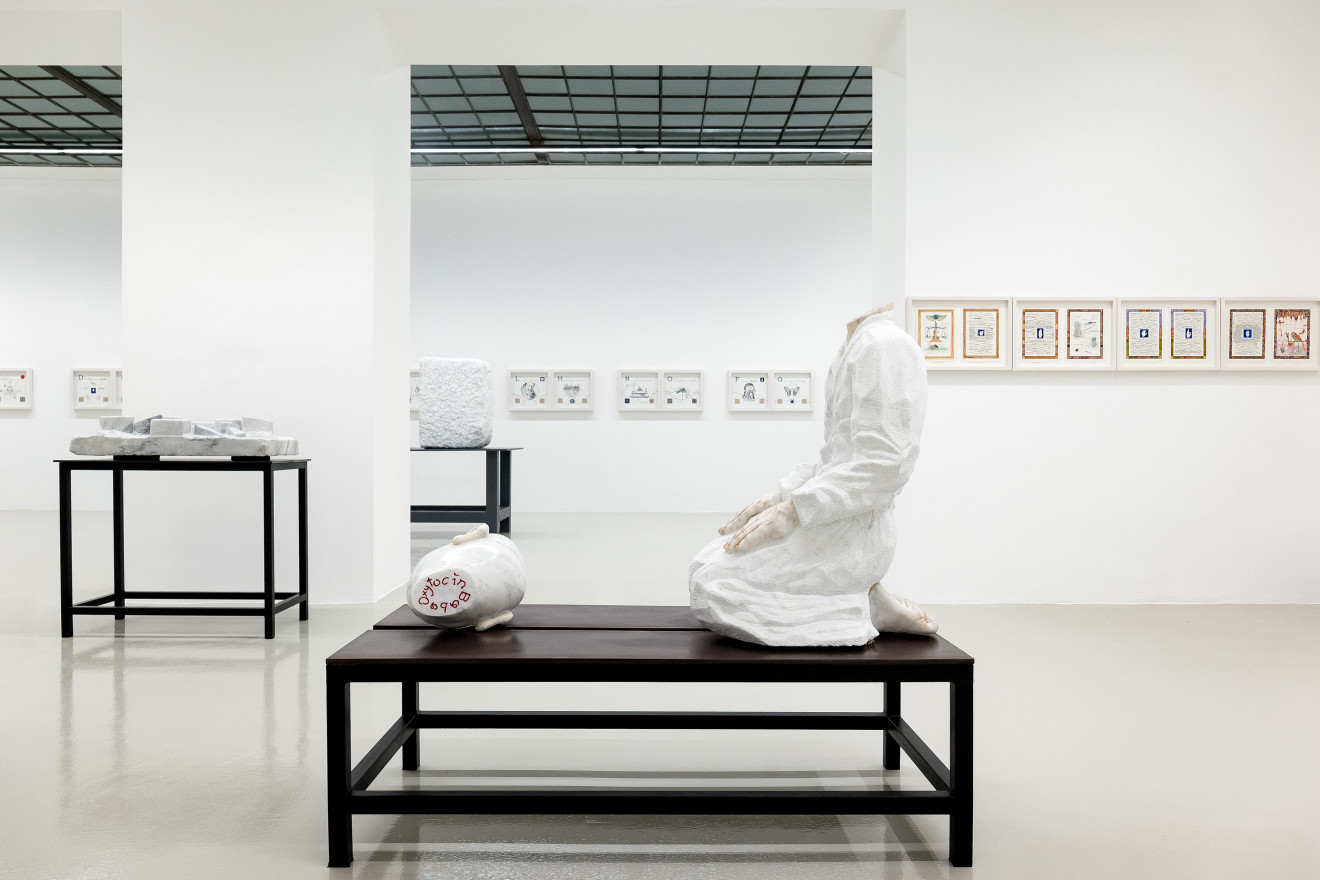 """Markus Redl """"Mudras"""" Installation View No.4, 2017"""