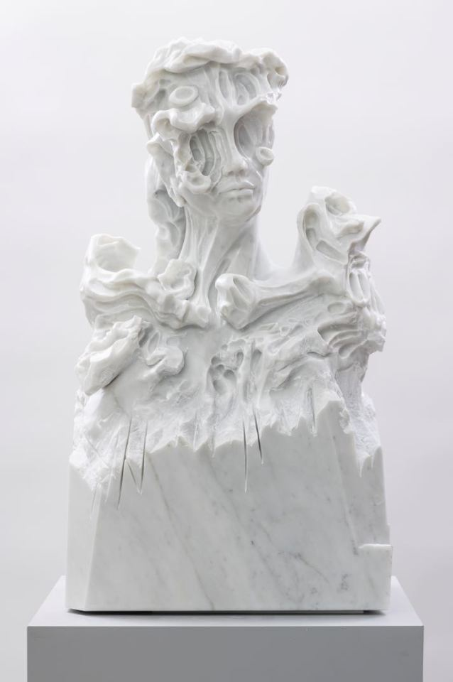 Kevin Francis Gray, Bust of Cáer, 2018