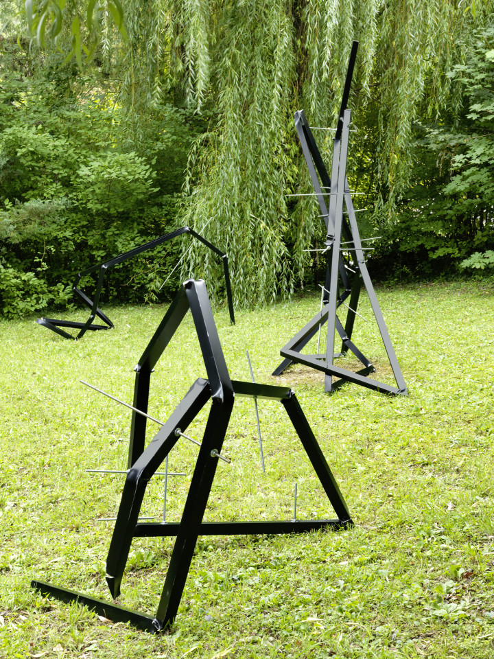Sculpture Garden, Installation view: Clemens Hollerer, 2019