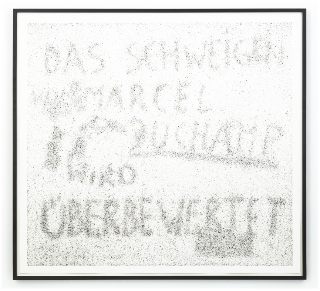 Maximilian Prüfer, Das Schweigen von Marcel Duchamp wird überbewertet, 2019