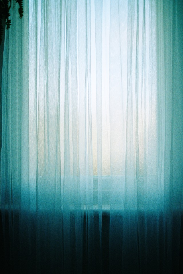 Michael Ullrich, Curtain light, 2016