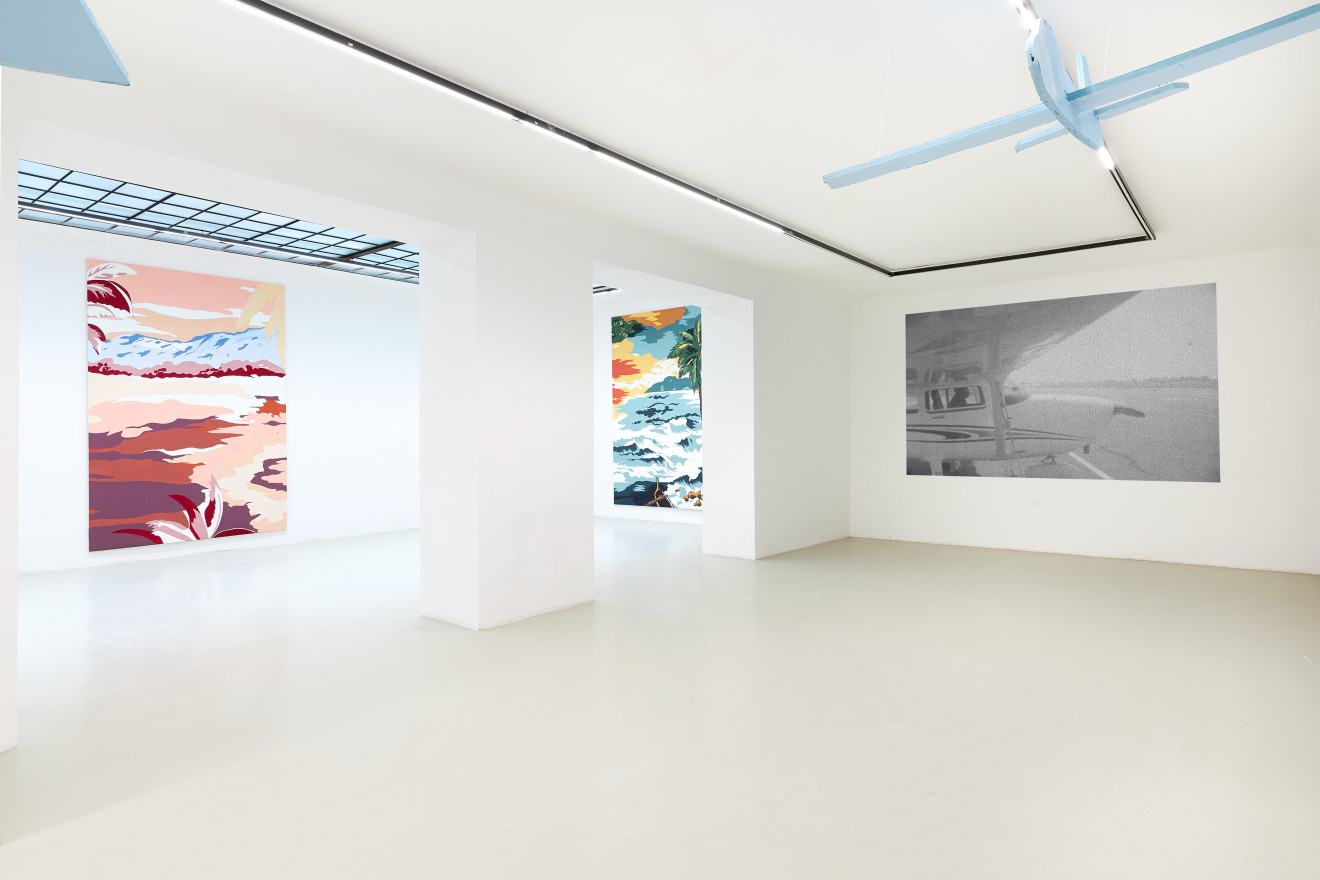 Grear Patterson, Installation View V, Planes & Mountains, 2019