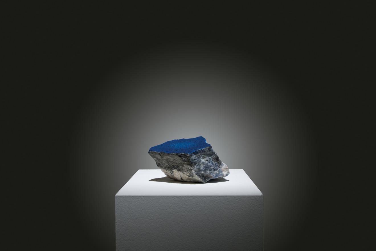 Makoto OFUNE, Reflection field - Sodalite, 2017