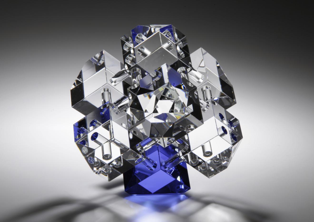 Jan-Joop Ruisch, Cube Construction, Blue