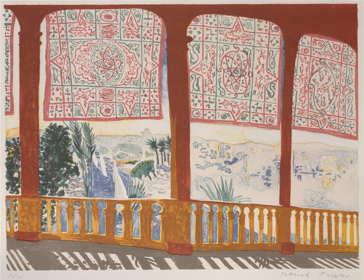 Patrick Procktor, Cataract, Aswan, 1985  £3,000.00