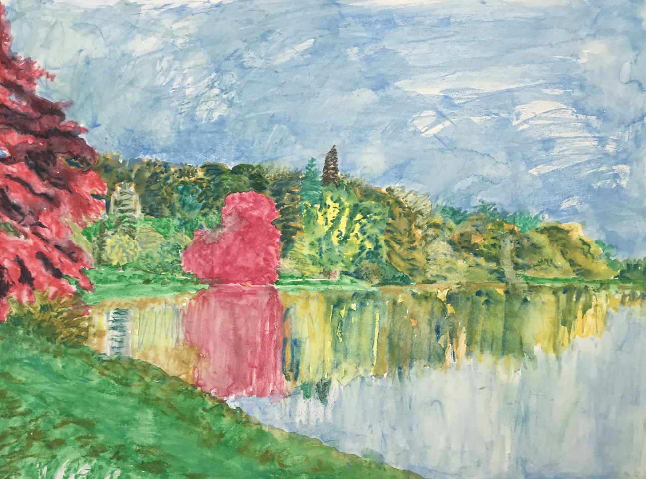 Adrian Berg, Stourhead, 22nd June , 2001  £3,500.00