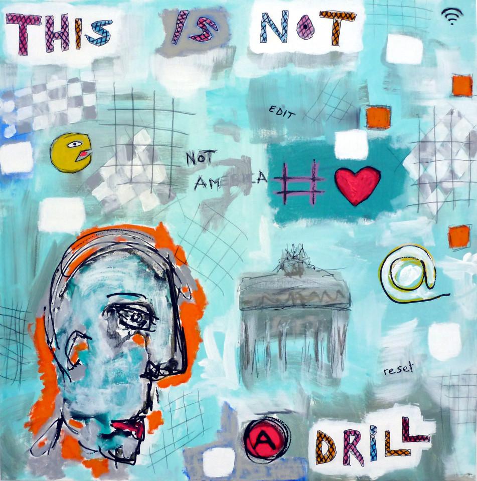 Pierre Gottfried Imhof, Not a Drill, 2016