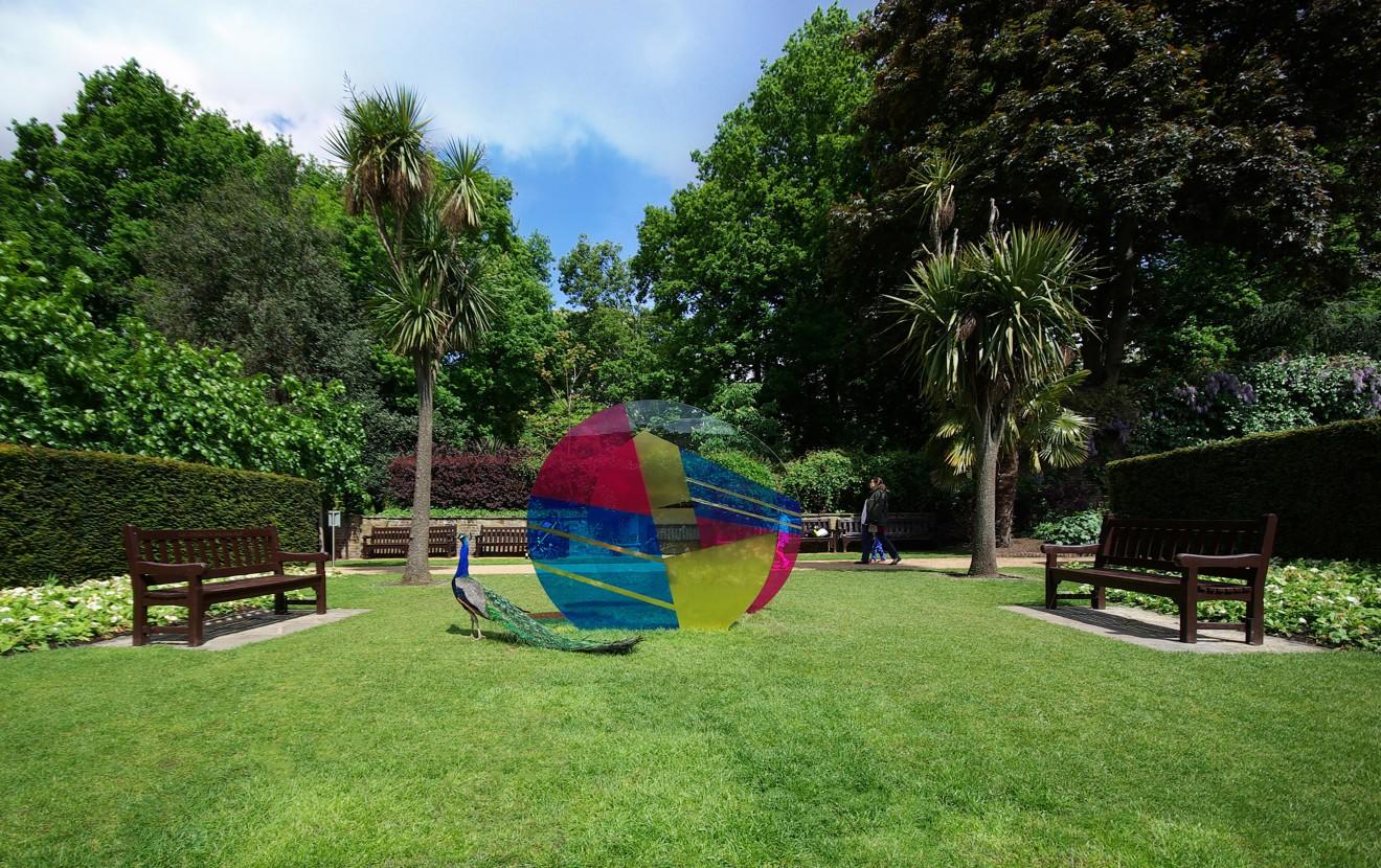 Eccentricity of Zero, Holland Park, London, 2013