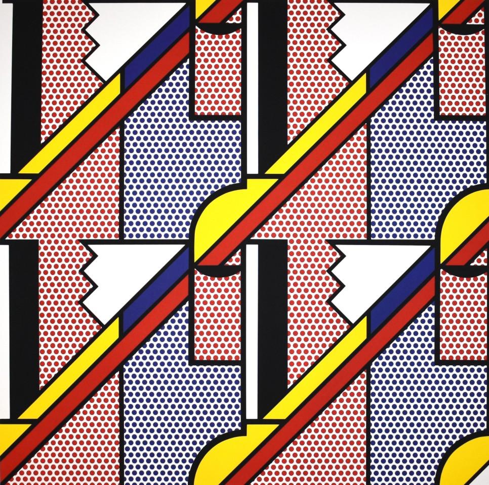 Roy Lichtenstein, Modern Print, 1971