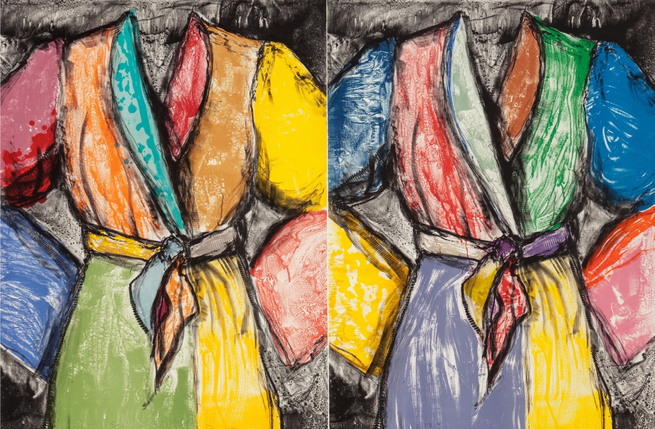 Jim Dine, Double Dose of Color, 2009