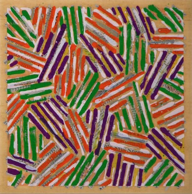 Jasper Johns, Untitled (Field 260)