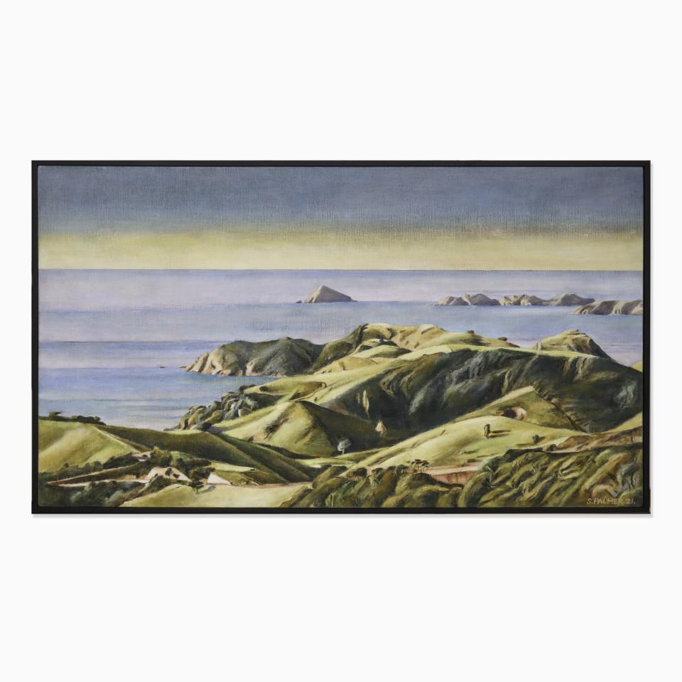 Stanley Palmer, Study for Above Opunui Matauri, 2021