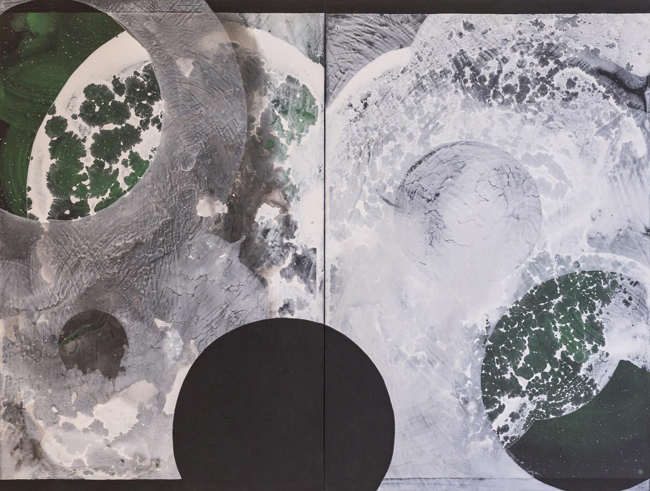 Asher Newbery, Kiritai (Green), 2019