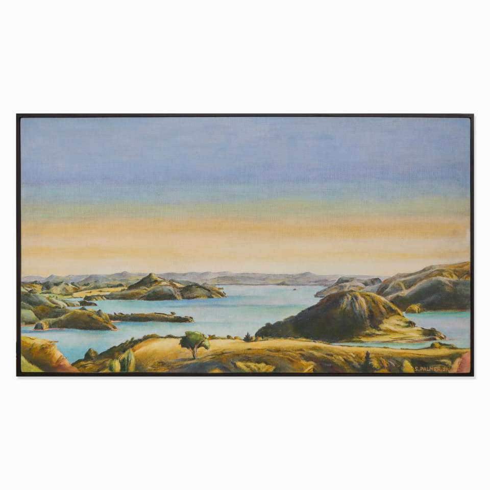 Stanley Palmer, Study for Above Ohauroro - Whangaroa, 2021