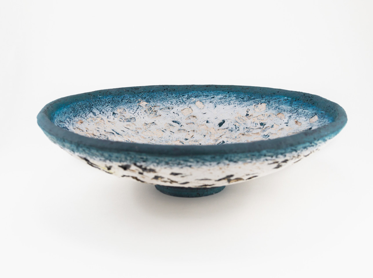 Paula Downing, Blue 'Gem' Plate
