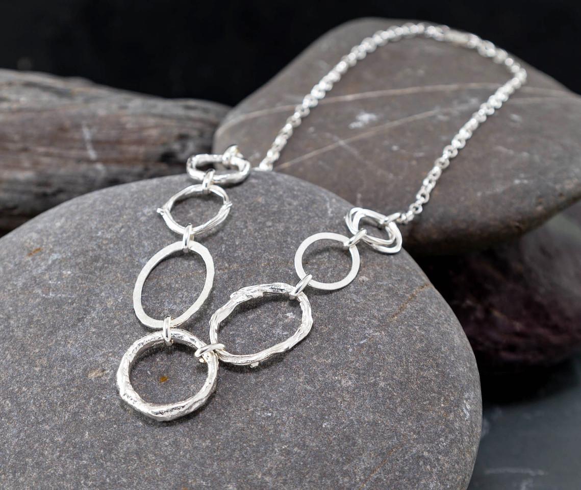 Marsha Drew, Irregular Link Necklace