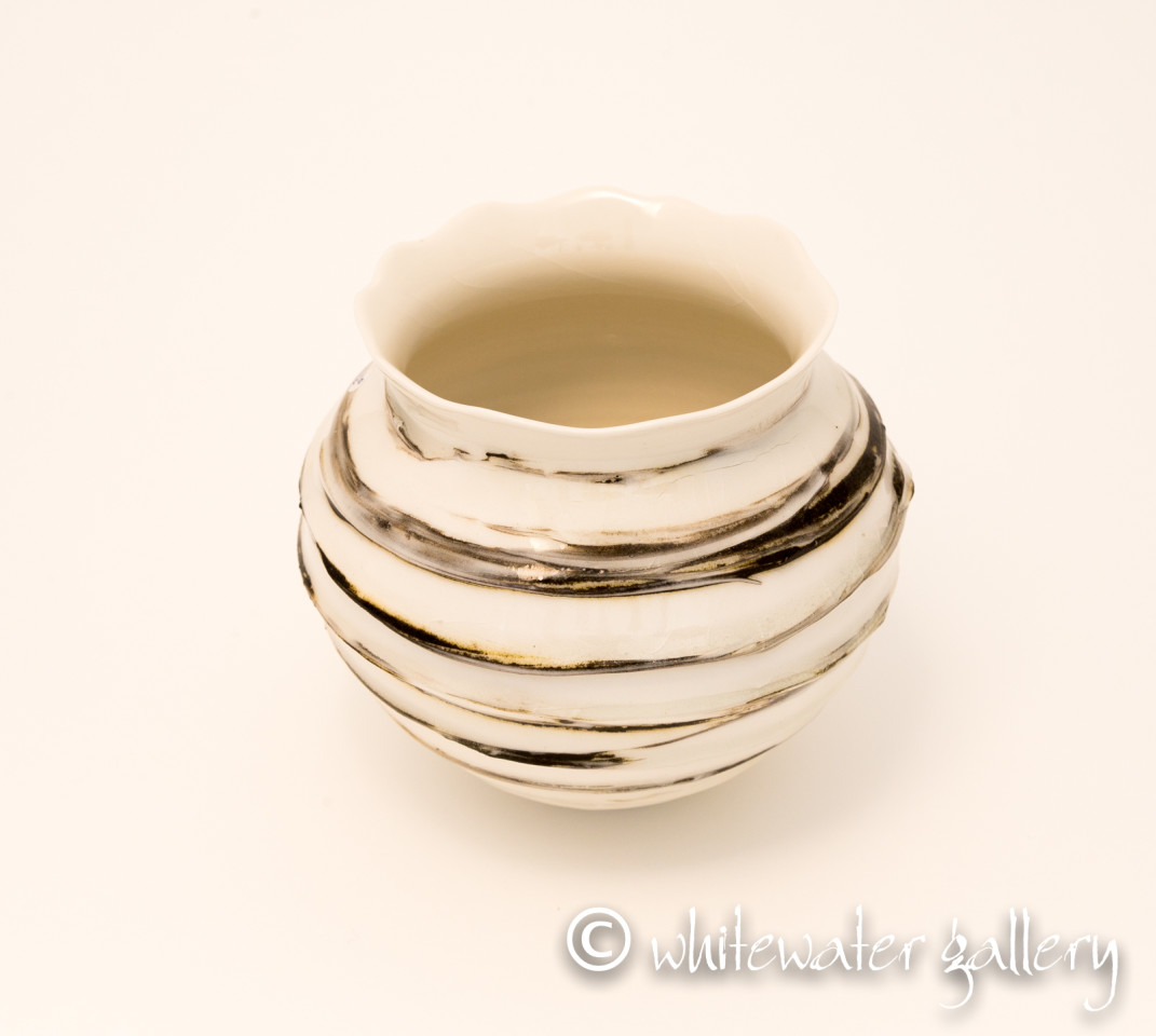 Hugh West, Textured Glazed Vase