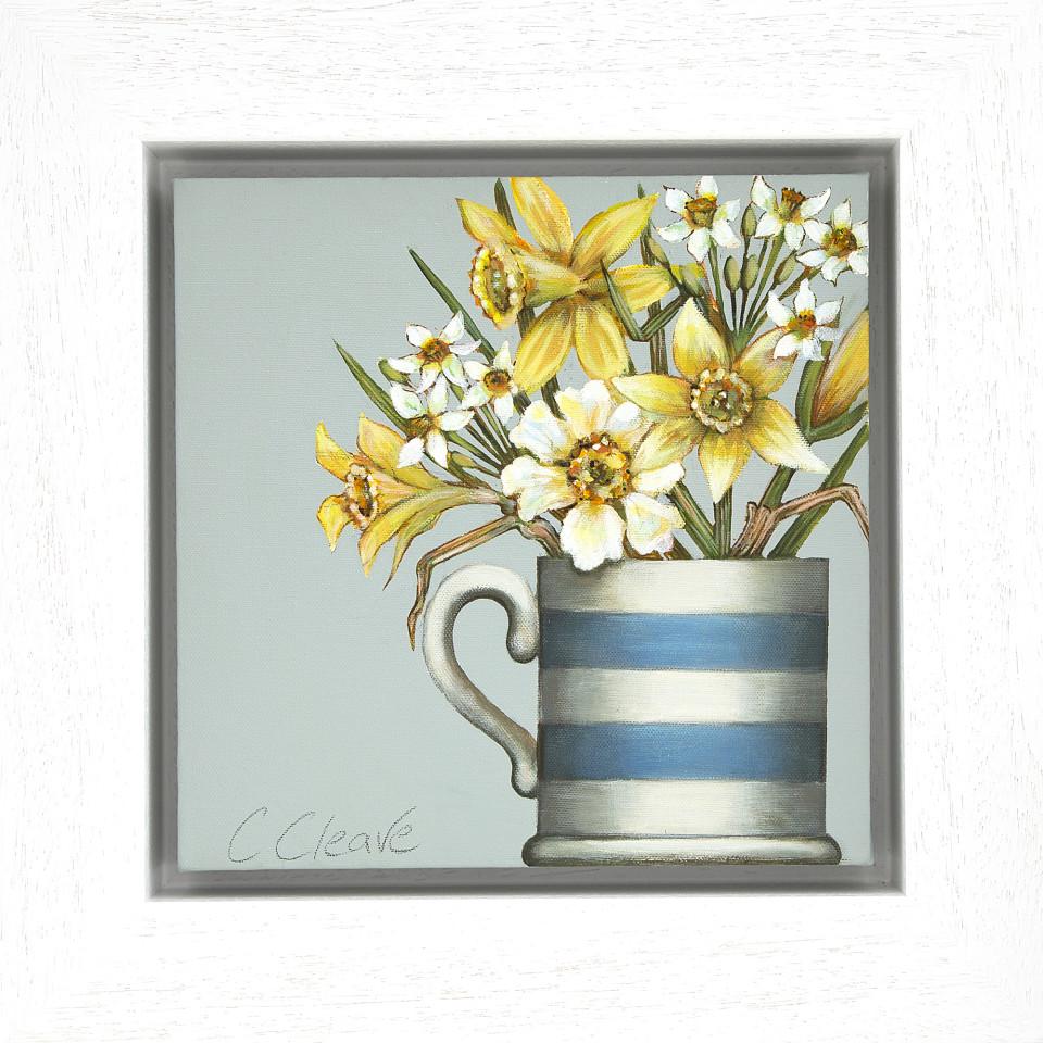 Caroline Cleave, Daffodils in a Cornish Mug