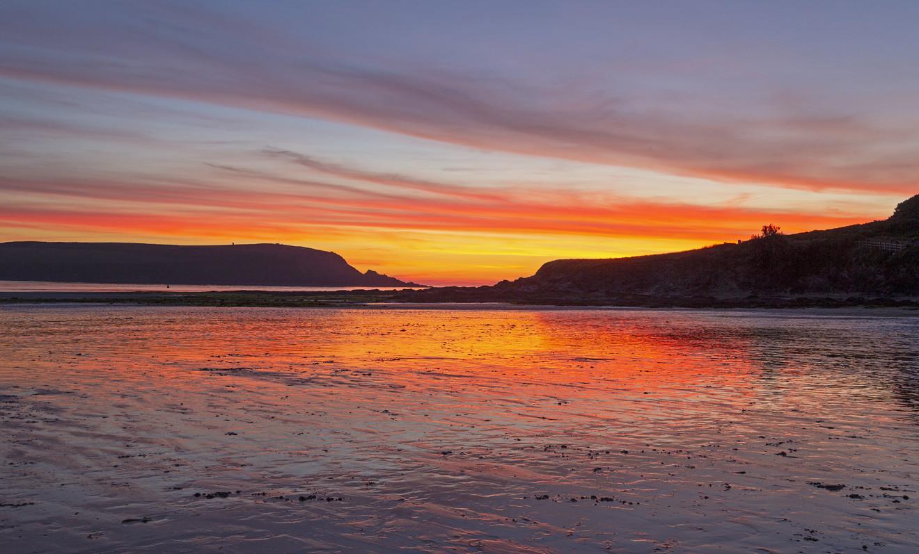 Nick Wapshott, After the Sun, Daymer Bay