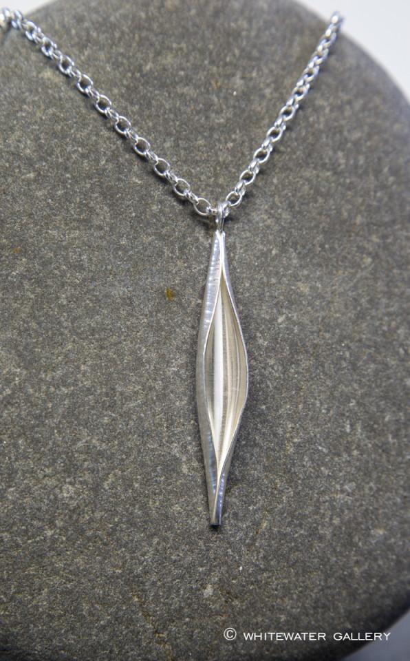 Marsha Drew, Pod Necklace in Silver