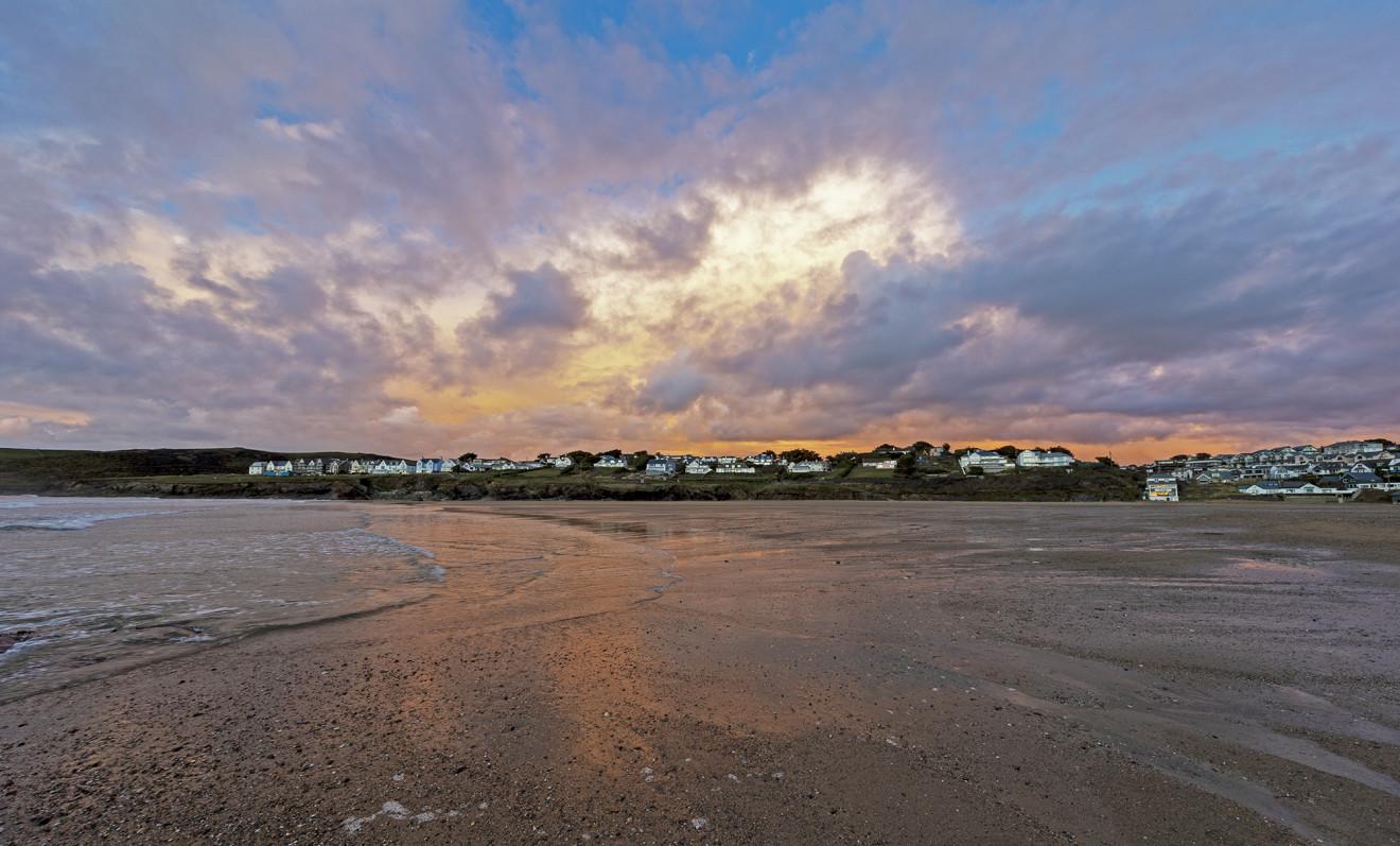 Nick Wapshott, New Polzeath Cloudburst