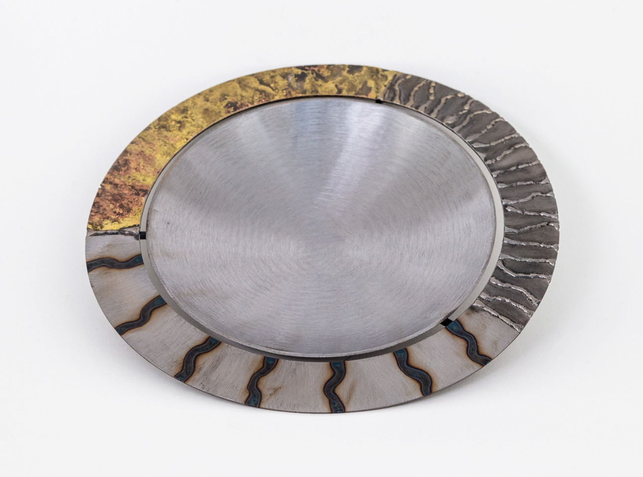 Tilly Whittle, Bowl with Gold Rim