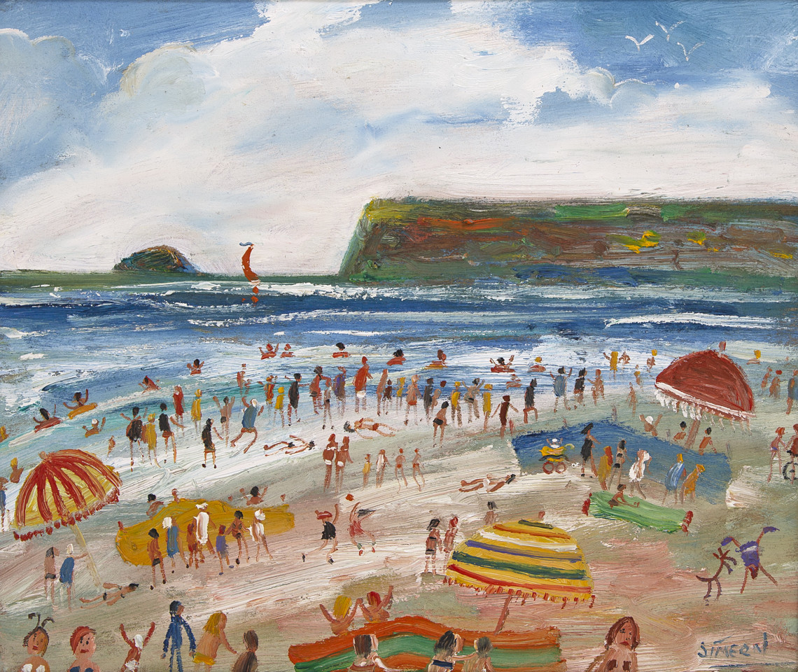 Simeon Stafford, Putting Up The Beach Umbrella
