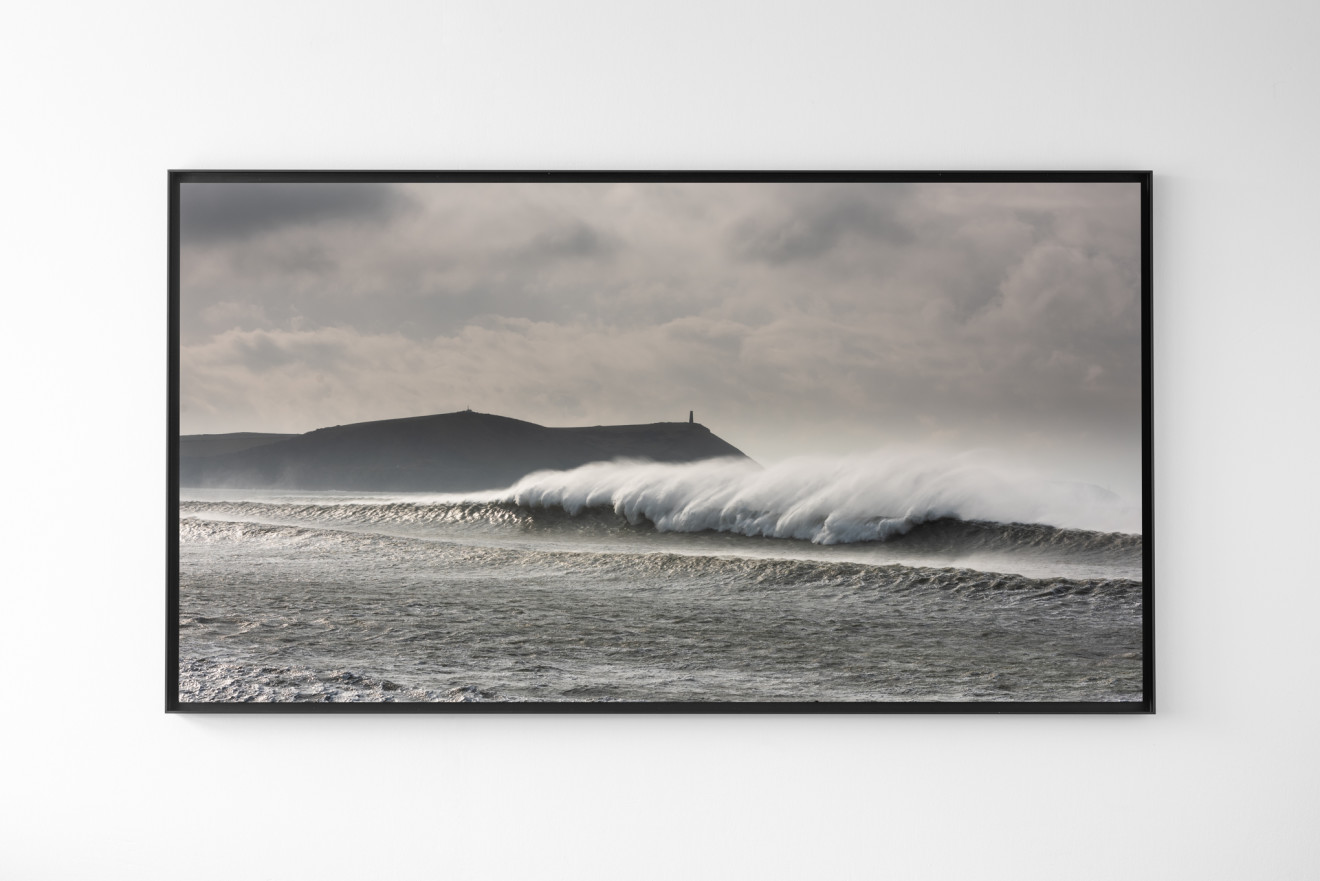 Nick Reader, Strong Offshore at Polzeath