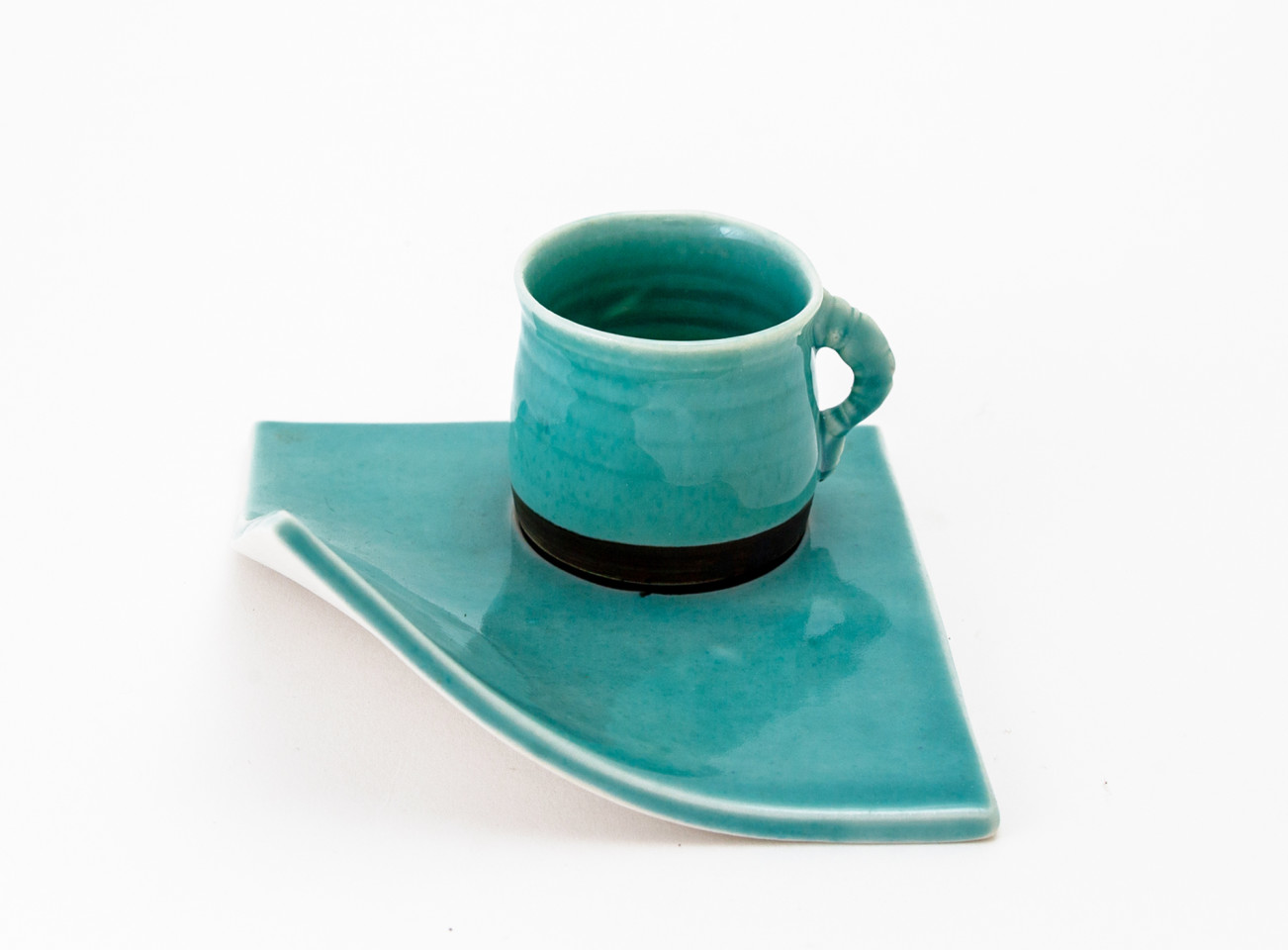 Hugh West, Espresso Cup and Plate