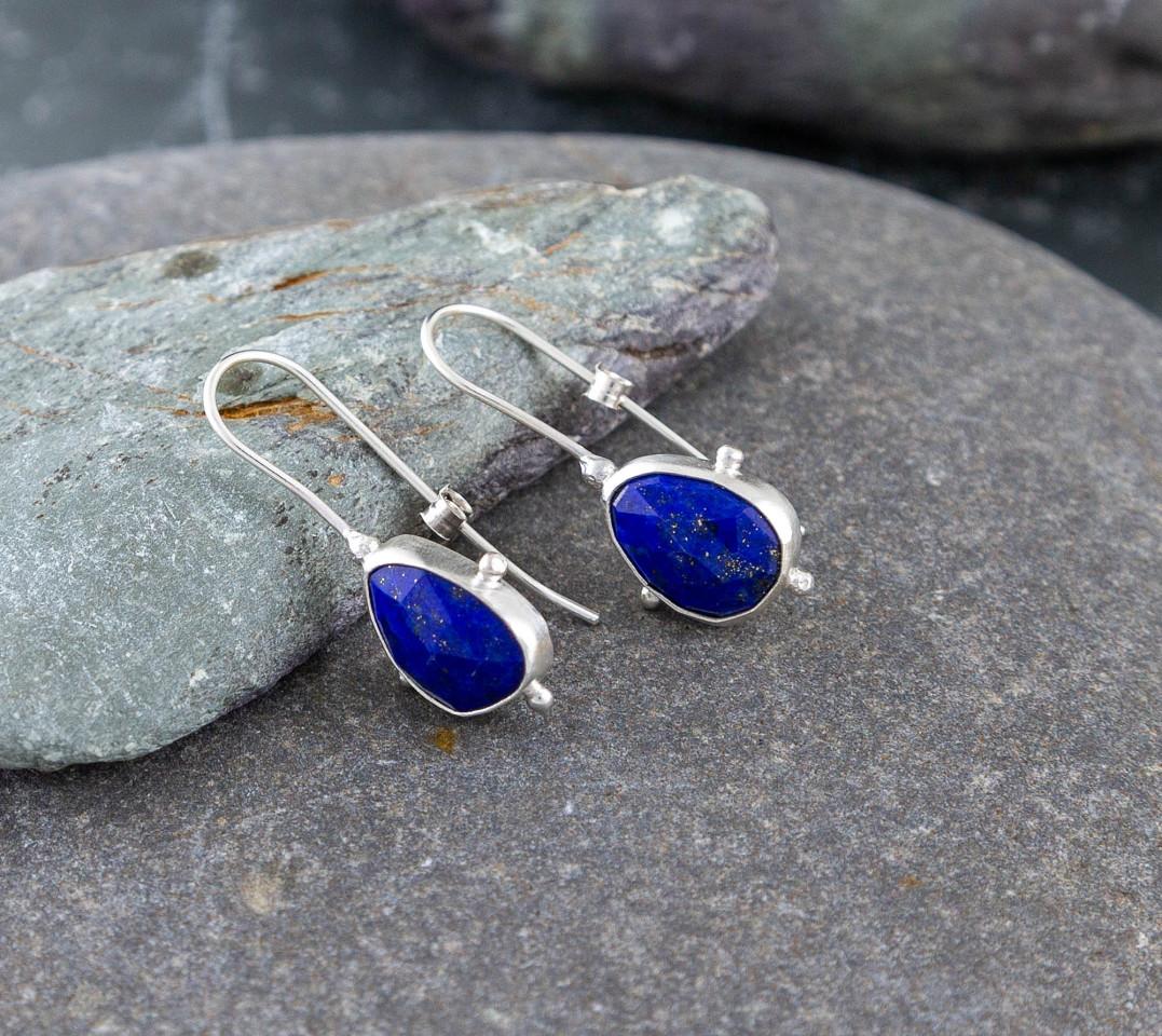 Marsha drew, Morwen Drop Earrings Lapis Lazuli