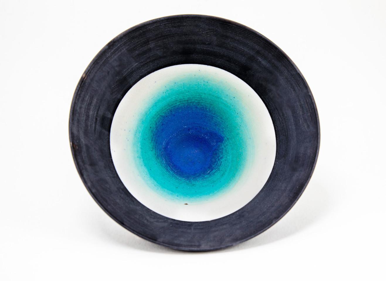 Hugh West, Matt Electric Blue Bowl