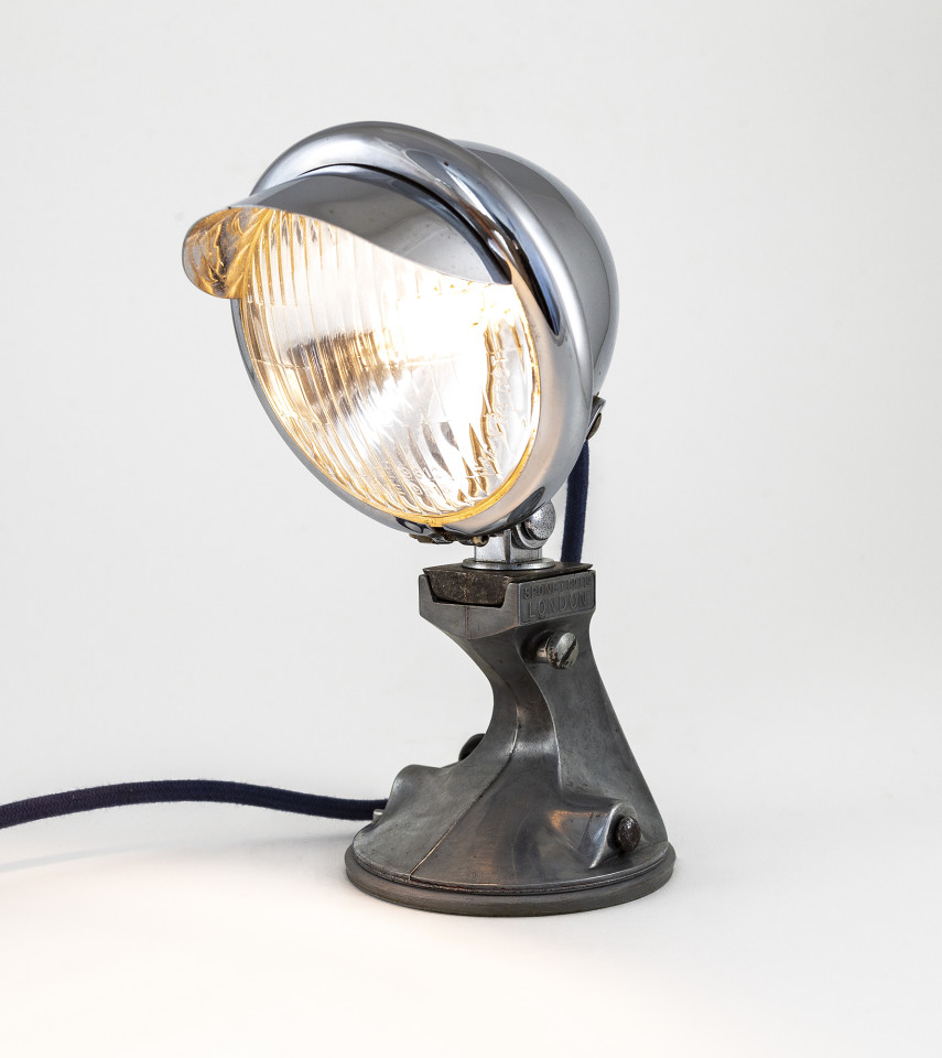 Sam Isaacs, Vintage Motorcycle Lamp