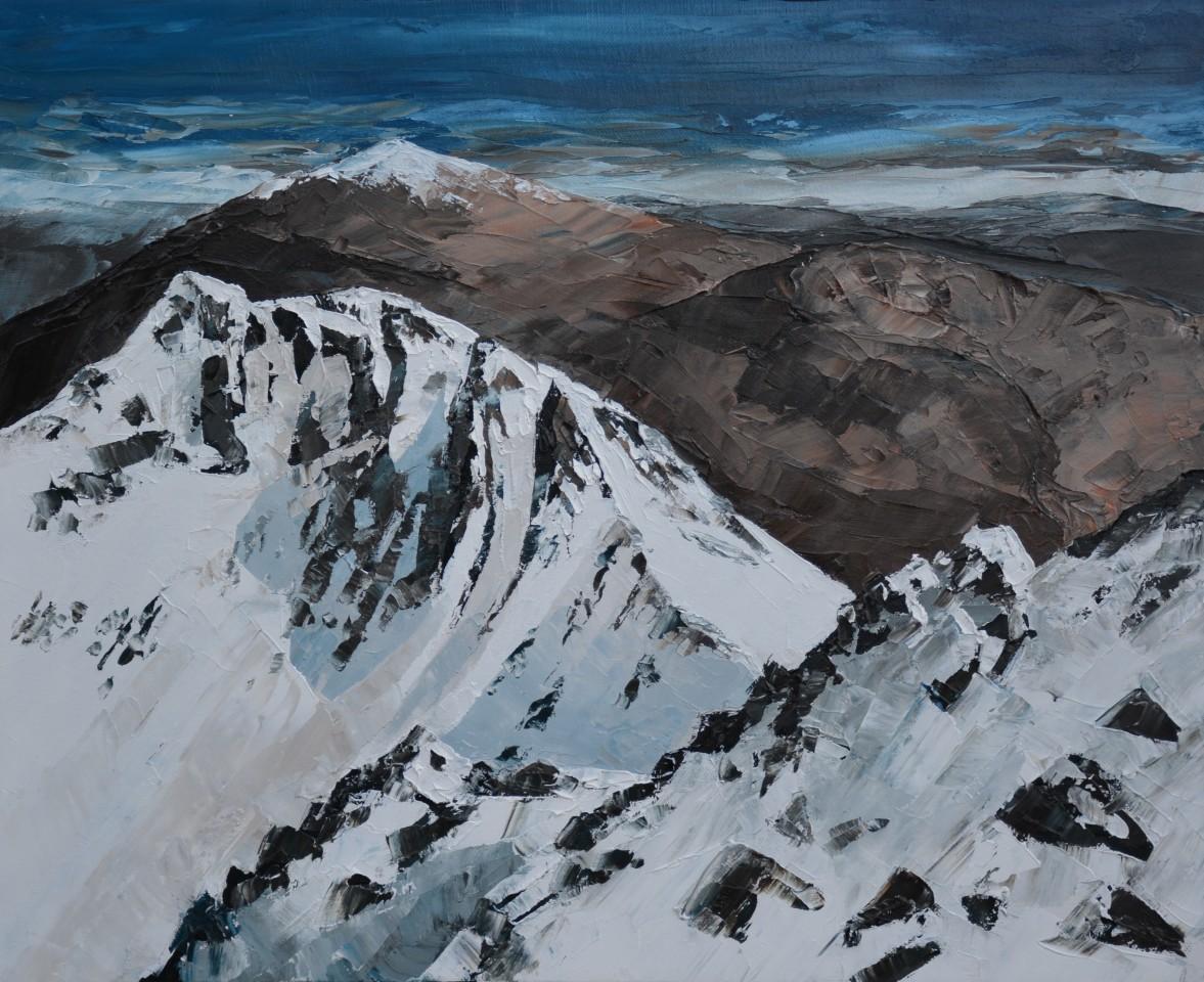 Gwyn Roberts, Crib Goch, Gaeaf / Crib Goch, Winter