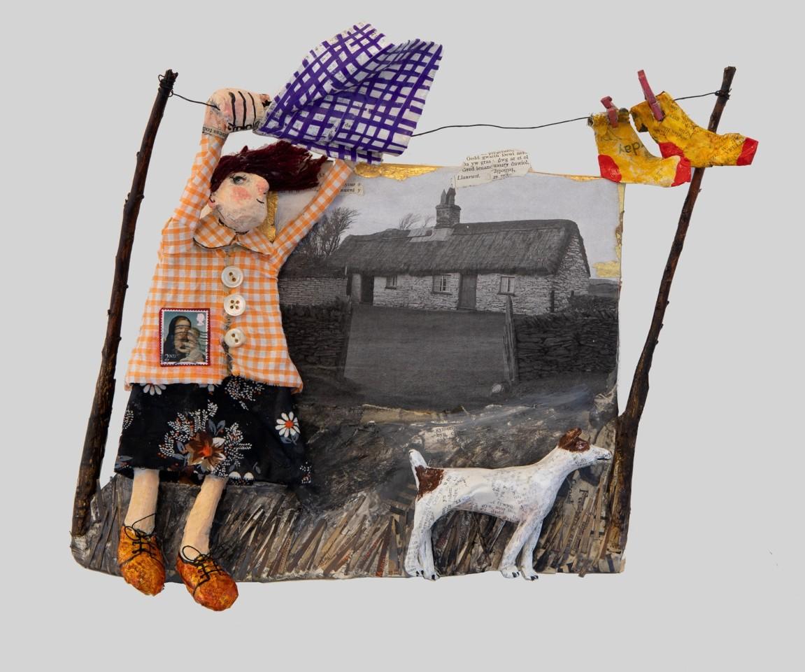 Luned Rhys Parri, Bwthyn ar Fynydd Hiraethog / Cottage on Hiraethog