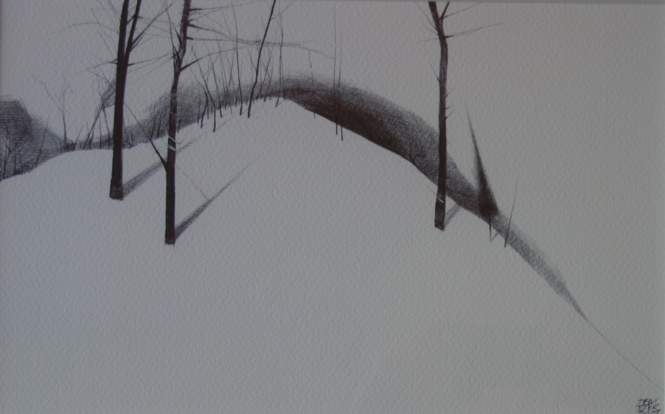 Dewi Tudur, Eira ar Fryn / Snow on Hill