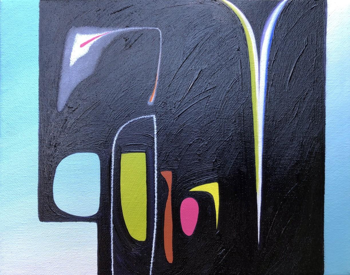 Martyn Jones, Night Garden Scintilla II (Study)