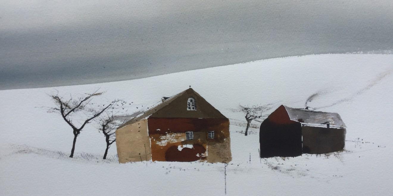 Dewi Tudur, Canol Gaeaf, Fferm / Mid Winter, Farm